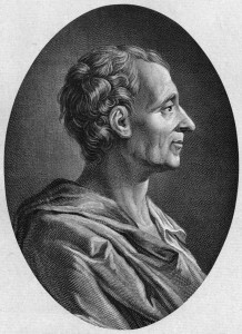 Montesquieu: as naive as any other anglophile.